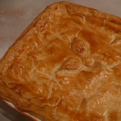 Chicken and Ham Pie Recipe