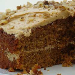 Walnut Whisky Spice Cake Recipe