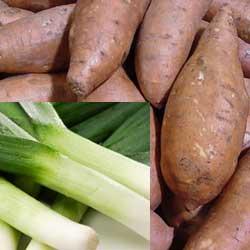 Sweet Potato and Stilton Soup