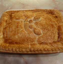 Easy Chicken and Ham Pie