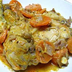 Chicken Casserole with Winter Vegetables